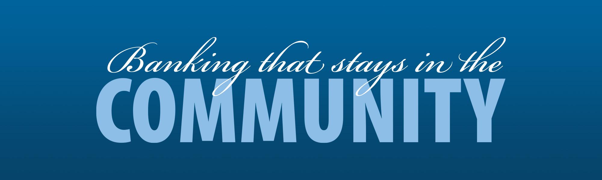 Community Bank Program Revisions
